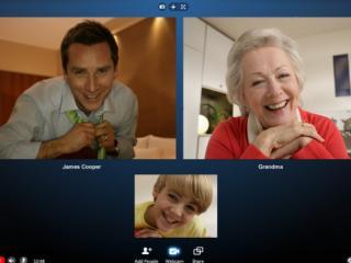 Nos vemos por Skype